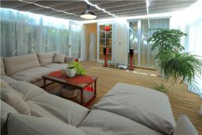 简约 欧式 别墅 小资 温馨 花园洋房 阳光房 阳台图片来自高度国际装饰刘玉在顺鑫花语----花海实景的分享