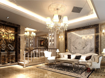 长泰东郊别墅欧式风格装修设计