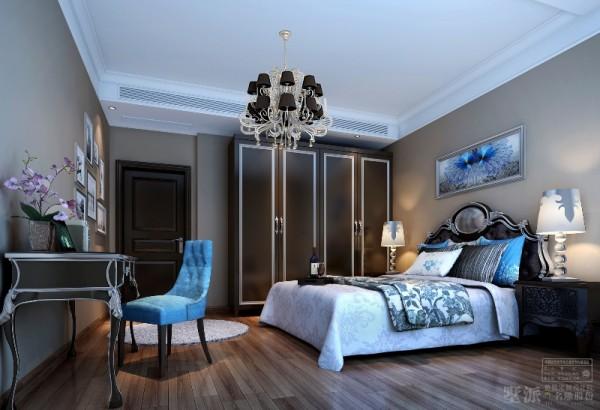名雕墅派整装定制设计——南澳复式海景房——卧室