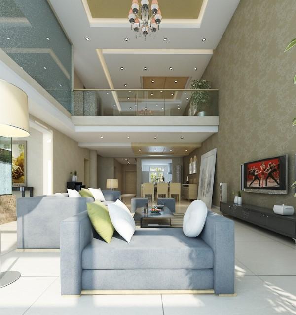 简单大方的客厅设计