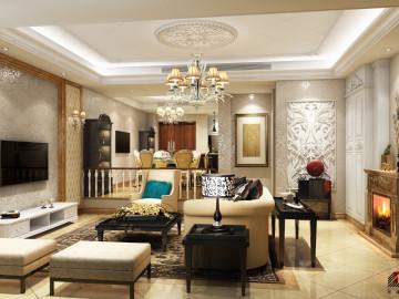长泰东郊别墅现代简欧风格设计