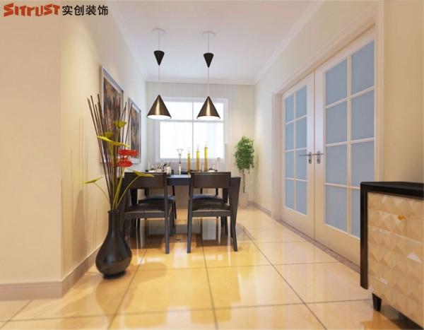 弘达明尚-140平米现代简约风格-餐厅效果图