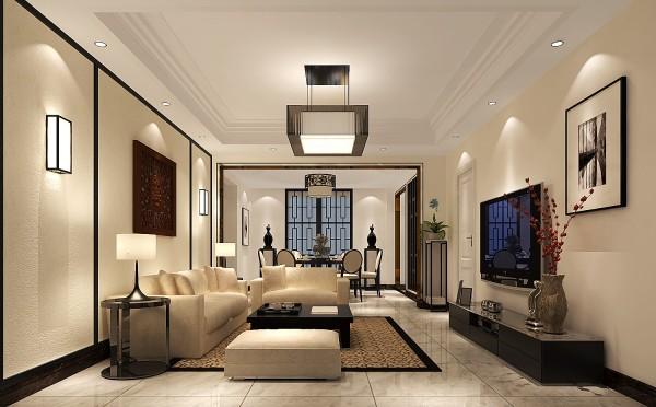 围绕现代简约为主题,适合于30岁左右的三口之家居住。