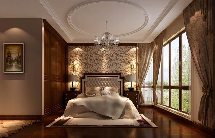 欧式 三居 白领 小资 白富美 高富帅 小清新 高度国际 屌丝 卧室图片来自高度国际装饰舒博在西山华府、的分享