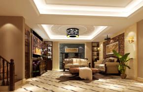 欧式 别墅 白领 80后 小资 白富美 高富帅 屌丝 客厅图片来自高度国际装饰舒博在燕西台的分享
