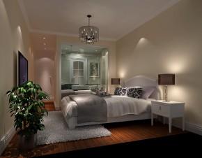 欧式 二居 白领 80后 小资 白富美 高富帅 屌丝 卧室图片来自高度国际装饰舒博在中粮详云的分享