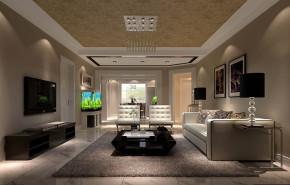 现代 三居 白领 80后 小资 高富帅 屌丝 白富美 高度国际 客厅图片来自高度国际装饰舒博在恒盛波尔多小镇的分享
