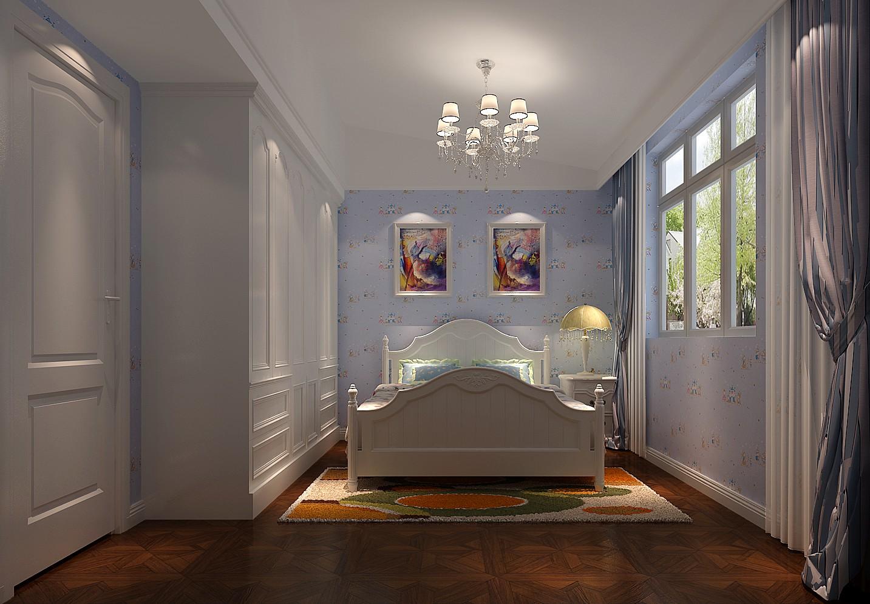 美式 四居 白领 80后 小资 高度国际 小清新 白富美 高富帅 卧室图片来自高度国际装饰舒博在裕祥花园、的分享