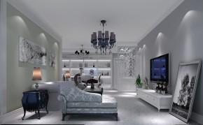 欧式 二居 白领 80后 小资 白富美 高富帅 屌丝 客厅图片来自高度国际装饰舒博在中粮详云的分享