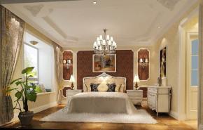 欧式 二居 白领 80后 小资 白富美 屌丝 高富帅 小清新 卧室图片来自高度国际装饰舒博在山语城、花香鸟语的分享