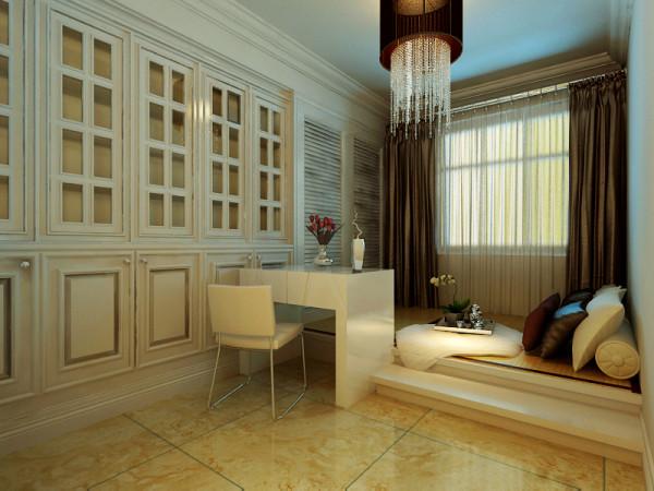 柏林怡园三居室136平米装修设计案例