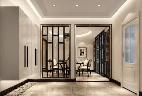 简约 中式 混搭 二居 三居 白领 温馨 玄关图片来自高度国际装饰刘玉在中信新城----优美含蓄的分享