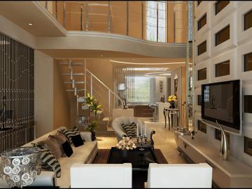 万科现代简约复式完美家居