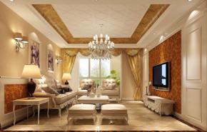 欧式 二居 白领 80后 小资 白富美 屌丝 高富帅 小清新 客厅图片来自高度国际装饰舒博在山语城、花香鸟语的分享