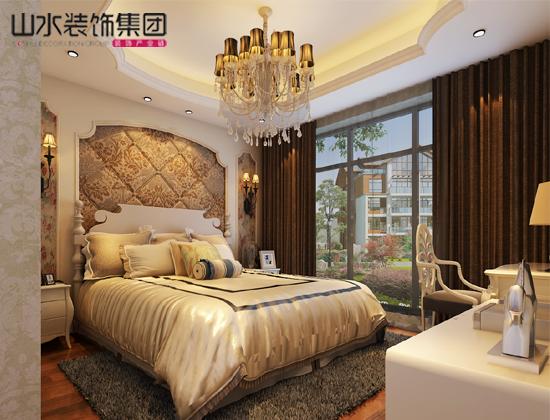 绿城玫瑰园卧室效果图