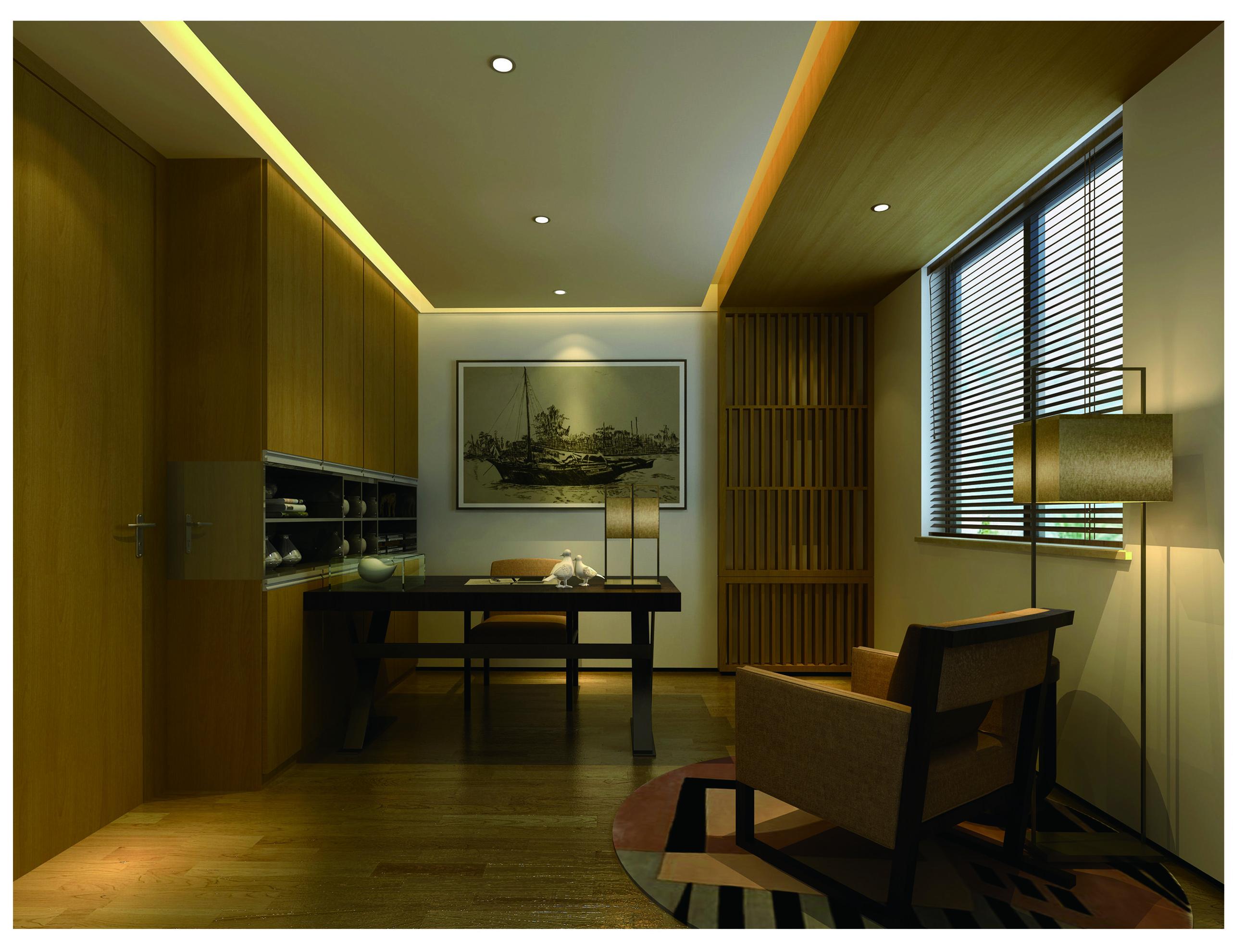简约 三居 白领 现代简约 80后 客厅 餐厅 卧室 书房图片来自超凡装饰季国华在简约时尚风格样板间的分享