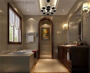 托斯卡纳 欧式 别墅 白领 高富帅 卫生间图片来自北京别墅装修设计在300平米托斯卡纳独栋别墅设计的分享