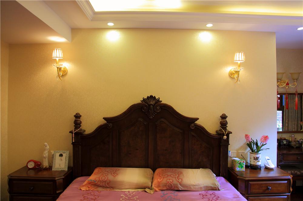 简约 欧式 高度国际 三居 白领 80后 小资 小清新 浪漫 卧室图片来自北京高度国际装饰设计在润泽公馆浪漫三居实景的分享