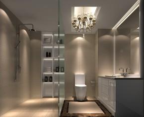 简约 欧式 高度国际 三居 白领 80后 高富帅 白富美 卫生间图片来自北京高度国际装饰设计在华贸城120平欧式公寓的分享