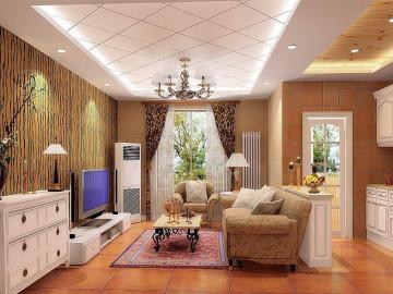 美式风格两居室
