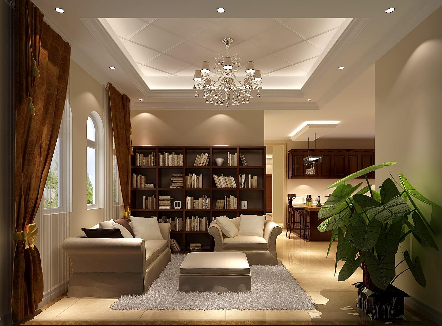 简约 欧式 混搭 别墅 收纳 小资 高度国际 小清新 书房图片来自高度国际王慧芳在融入了大量欧式元素的香江别墅的分享