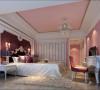 名雕丹迪别墅设计院——混搭风格——女孩房