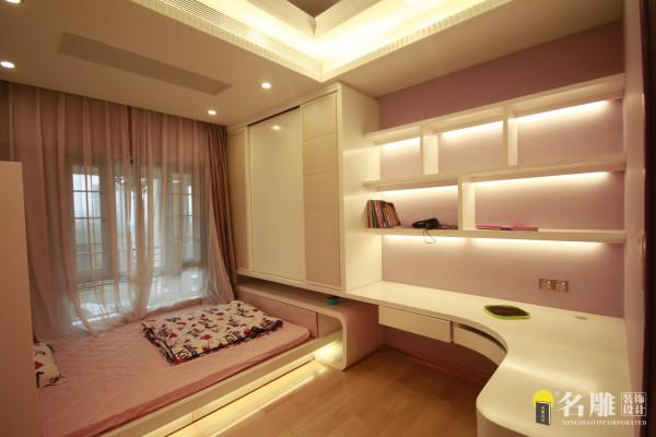 名雕装饰设计—天湖郦都四居室—欧式儿童房
