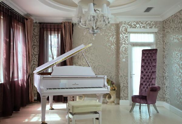 【实景装修案例】400平别墅精致舒适与品质的完美演绎-英式乡村-多功能厅实景图