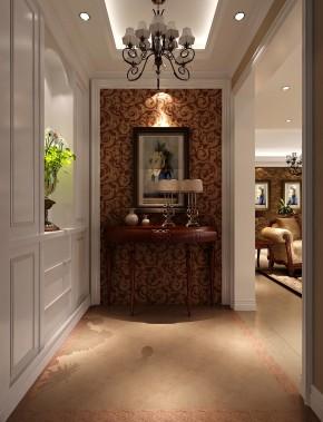 鲁能七号院 高度国际 二居 三居 简约 白领 80后 白富美 高富帅 玄关图片来自北京高度国际装饰设计在鲁能七号院简欧公寓的分享