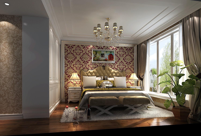 新古典 白领 80后 小资 卧室图片来自高度国际在7.6万打造天润福熙大道新古典风的分享