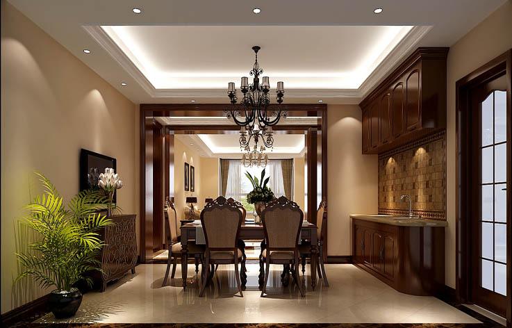 简欧 三居 80后 餐厅图片来自高度国际在9.5万打造华贸城简欧范的分享