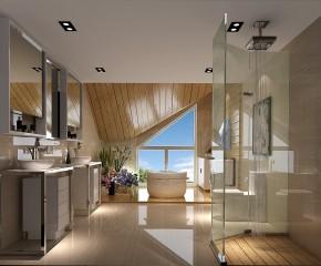中式 别墅 小资 简洁明快 舒适 卫生间图片来自高度国际装饰刘玉在观山悦香溪渡----简洁造就舒适的分享
