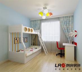温馨 舒适 小清新 现代 89平 二居 儿童房图片来自朗润装饰工程有限公司在89平温馨舒适小清新现代风的分享