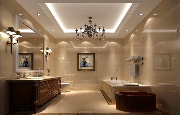 简欧 三居 80后 卫生间图片来自高度国际在9.5万打造华贸城简欧范的分享