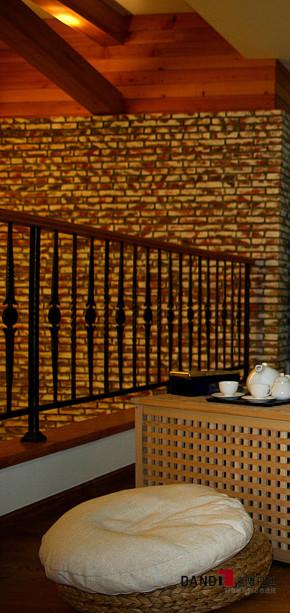 北欧风格 别墅 高富帅 景湖蓝郡 别墅装修 豪宅设计 休闲别墅 楼梯图片来自名雕丹迪在北欧—景湖蓝郡450平休闲别墅的分享