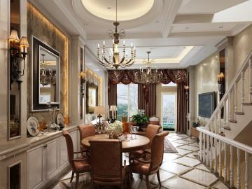 御沁园别墅最新设计案例新欧式
