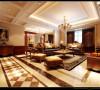 意墅蓝山173平美式风格装修设计