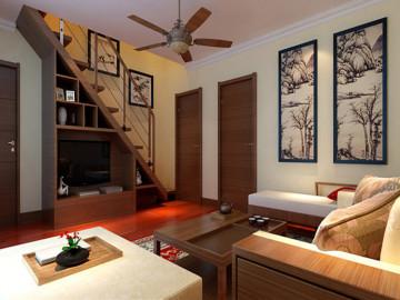 120平东南亚美风三居室