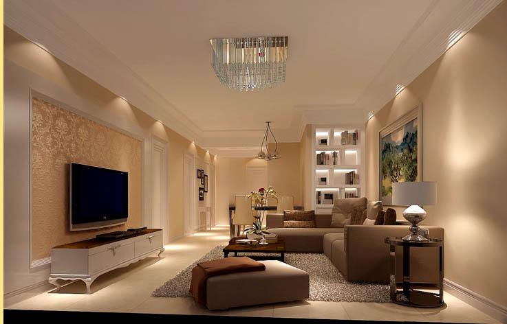 现代简约 客厅图片来自高度国际在5万打造金谷香俊现代简约范的分享