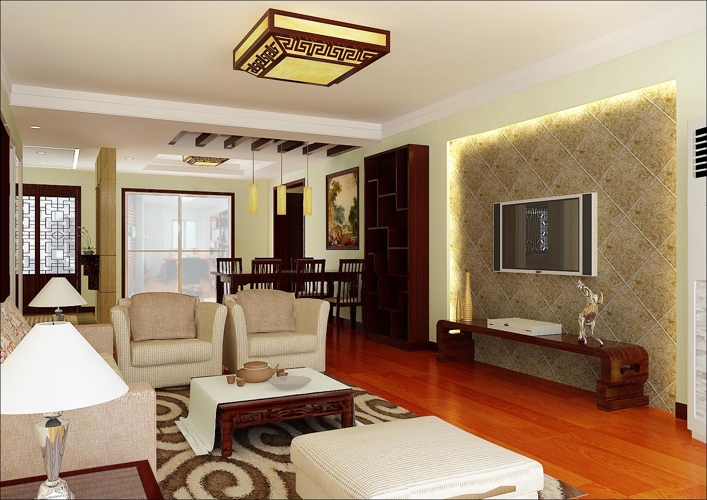 三居 客厅图片来自亚光亚装饰在突出实用的中式的分享