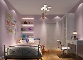 简约 现代 高度国际 二居 白领 小资 80后 白富美 高富帅 儿童房图片来自北京高度国际装饰设计在K2百合湾75平温馨三口之家的分享