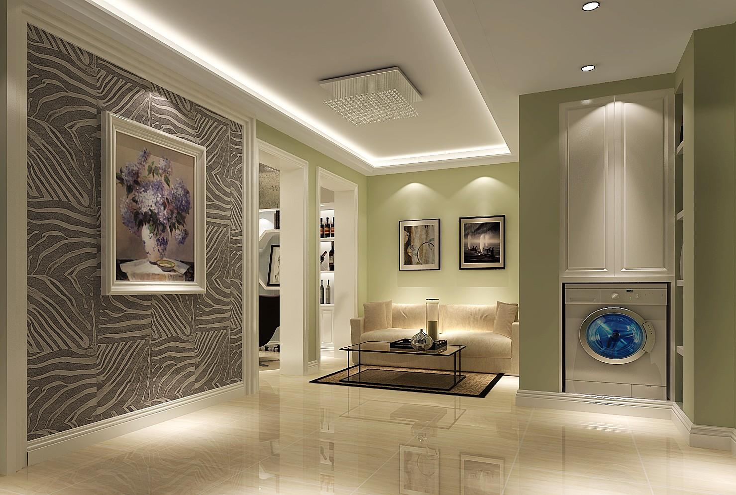 简约 现代 高度国际 一居 80后 小清新 公主房 温馨 时尚简约 玄关图片来自北京高度国际装饰设计在50平现代简约极致公寓的分享