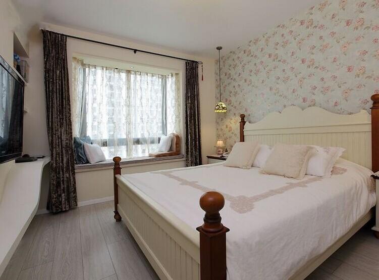 卧室图片来自亚光亚神设手富成在柔美的田园风格的分享