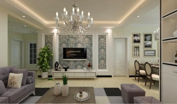 设计酒柜,增加储物空间的同时又满足了客户的需求。在家具配置上,白亮光系列家具,独特的光泽家具倍感时尚,具有舒适与美观并存的享受。