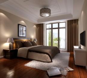 金隅翡丽 高度国际 二居 美式 白领 80后 小资 白富美 高富帅 卧室图片来自北京高度国际装饰设计在金隅翡丽的分享