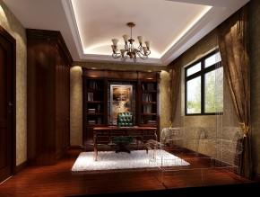 托斯卡纳 混搭 三居 白领 收纳 小资 高度国际 小清新 书房图片来自高度国际王慧芳在托斯卡纳金色漫香苑的分享