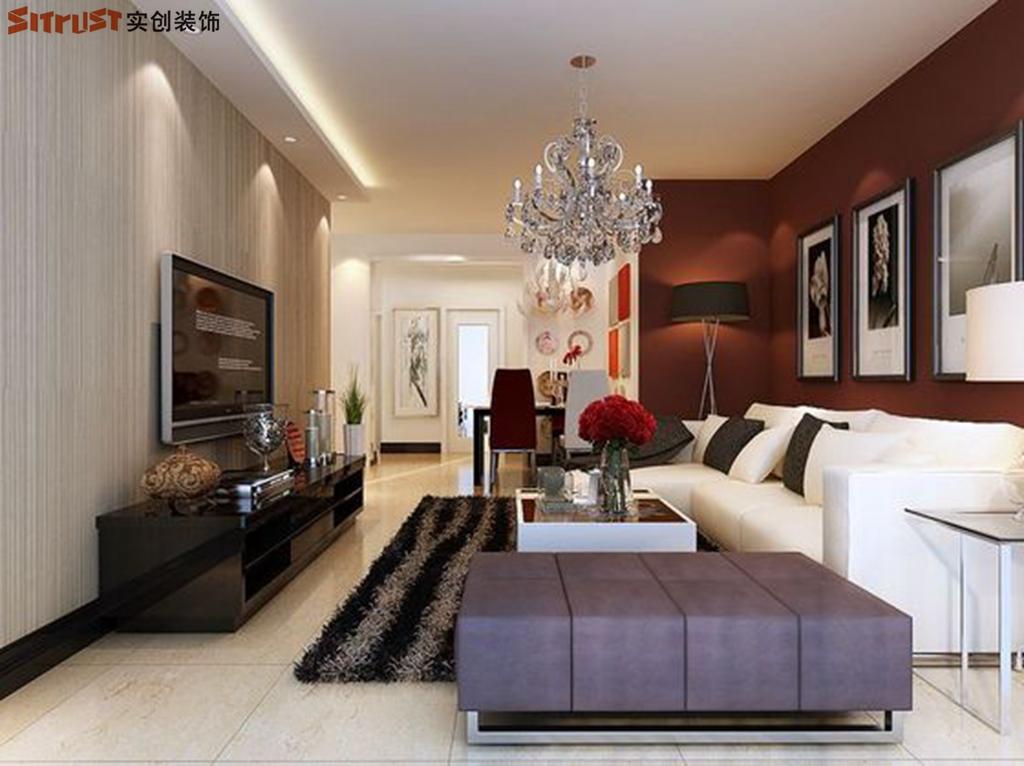简约 欧式 田园 混搭 二居 三居 客厅图片来自北京实创集团在石家庄建投福美国际装修的分享