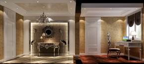 欧式 奢华 三居 别墅 白领 80后 高富帅 白富美 温馨 玄关图片来自北京高度国际装饰设计在金隅翡丽奢华公寓的分享