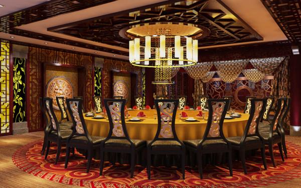 昂渤装饰富有特色的餐厅设计和装修