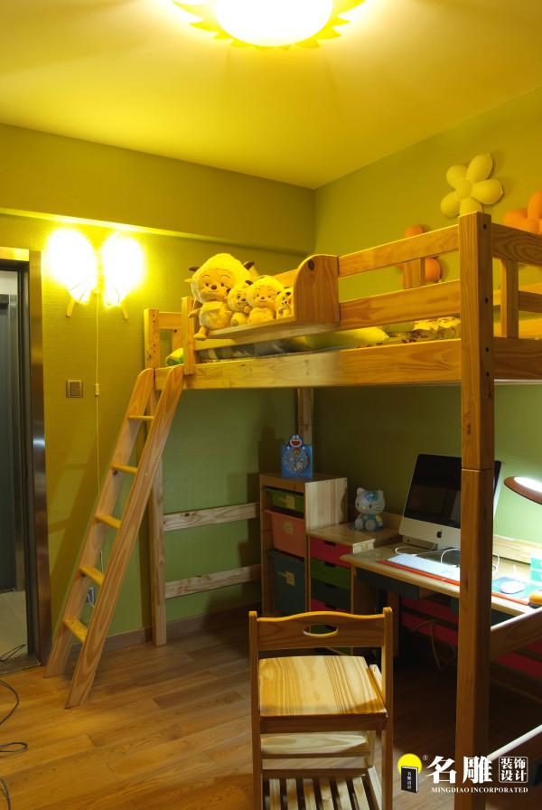 名雕装饰设计—鸿景翠峰三居室—现代风格儿童房